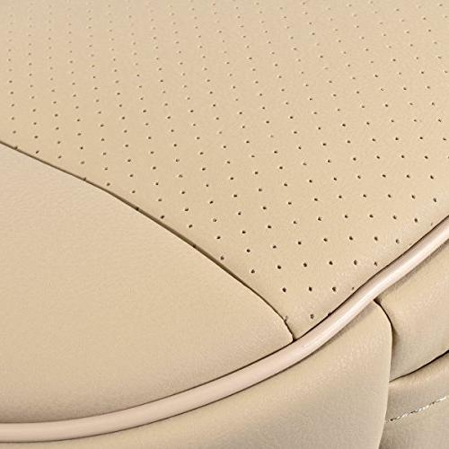 EDEALYN PU Car seat seat Cover for Four-Door Sedan&SUV,Single seat Without backrest 1pcs