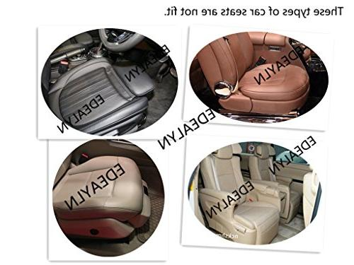 EDEALYN Ultra-Luxury PU Leather Car seat Four-Door backrest