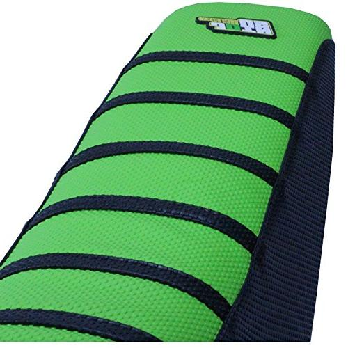 JFG RACING Rubber Soft Cover MX Kawasaki KLX300 94-07 Dirt - Green