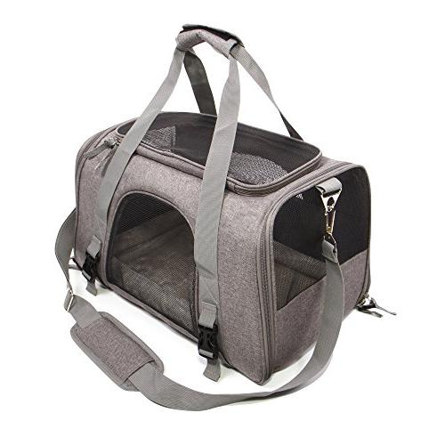Jet Sitter Airline Approved Bag TSA Travel Carriers Cat Small
