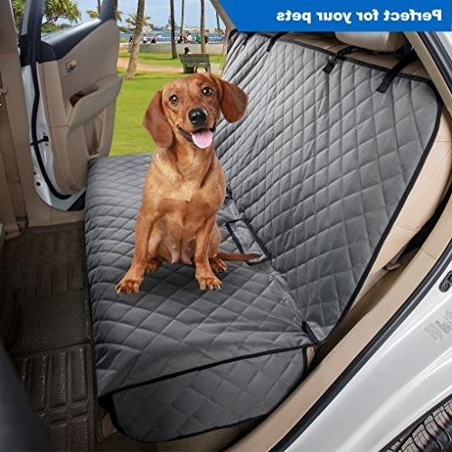 VIEWPETS Bench Car Seat Cover Protector Heavy-Duty and Nonslip Car Seat Dogs Universal Fits &