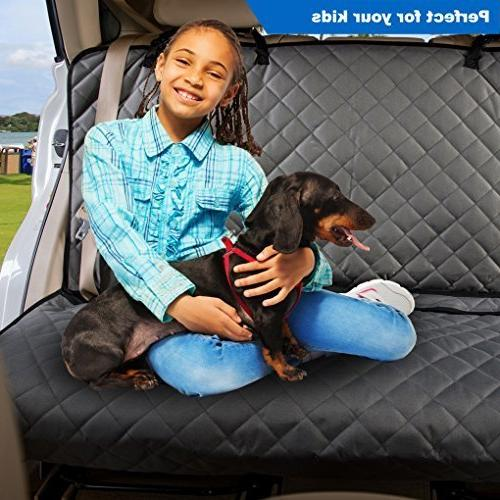 VIEWPETS Car Cover Protector - Heavy-Duty and Pet Car Cover Dogs with Universal Fits Cars, Trucks & SUVs