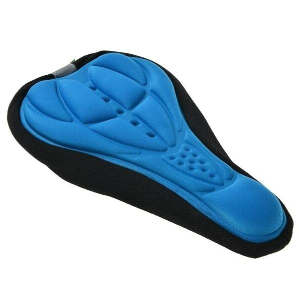 SEAT SADDLE COVER CUSHION FOR SPIN -BLUE