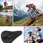 Bicycle Soft Silicone Bike Cycling Gel Saddle Seat Cover Cus
