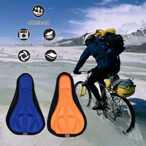 Bike Seat Cover Bicycle Soft Comfort Padded Cushion