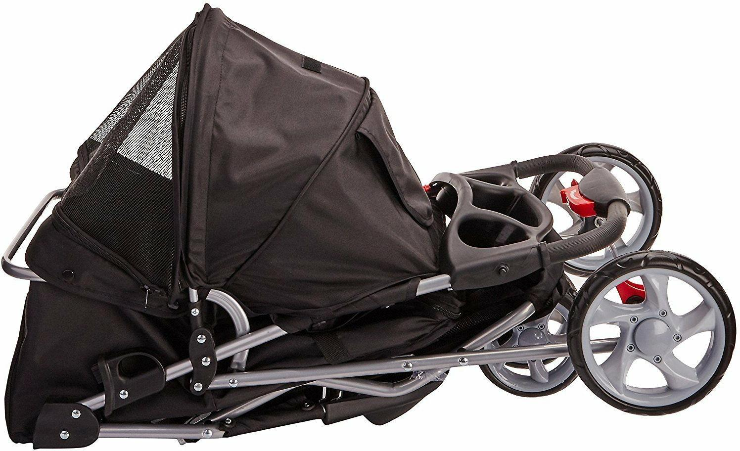 Black Jogger & Stroller by Paws