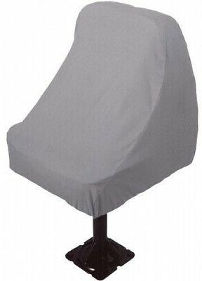 Boat Seat Cover Waterproof Pontoon Fishing Bass Chair Protec