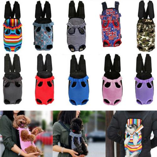 breathable pet front backpack dog cat puppy