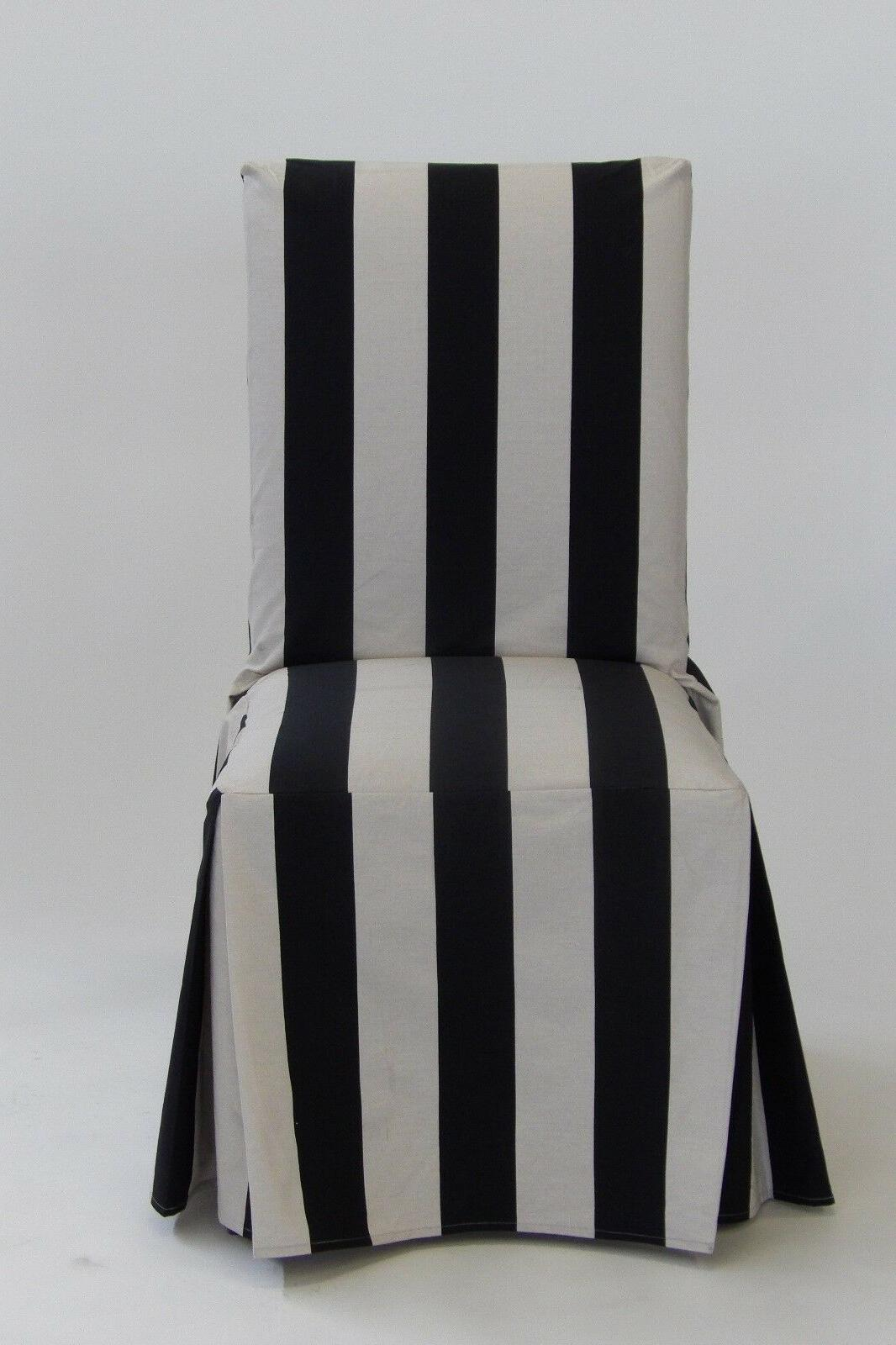 Classic Slipcovers Stripe Long Set of