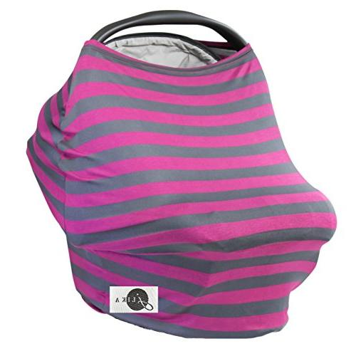 car seat covers stretchy canopy