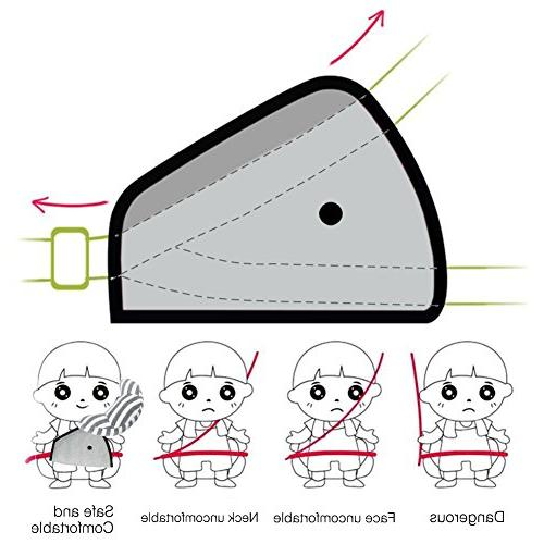 DODYMPS Travel Pillow Cushion Pad Adjuster for Sleeping Covers
