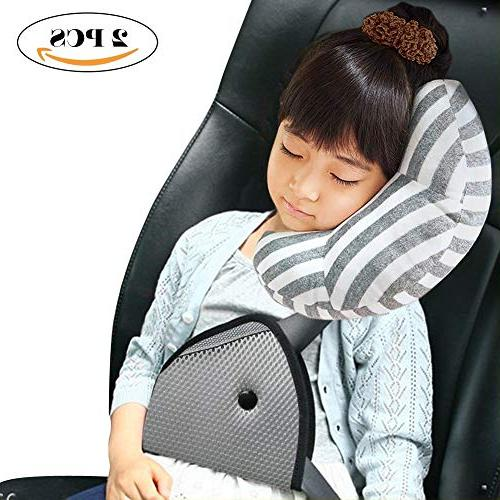 DODYMPS Pillow Support Pad and for Safety Belt Sleeping Adjuster for Covers