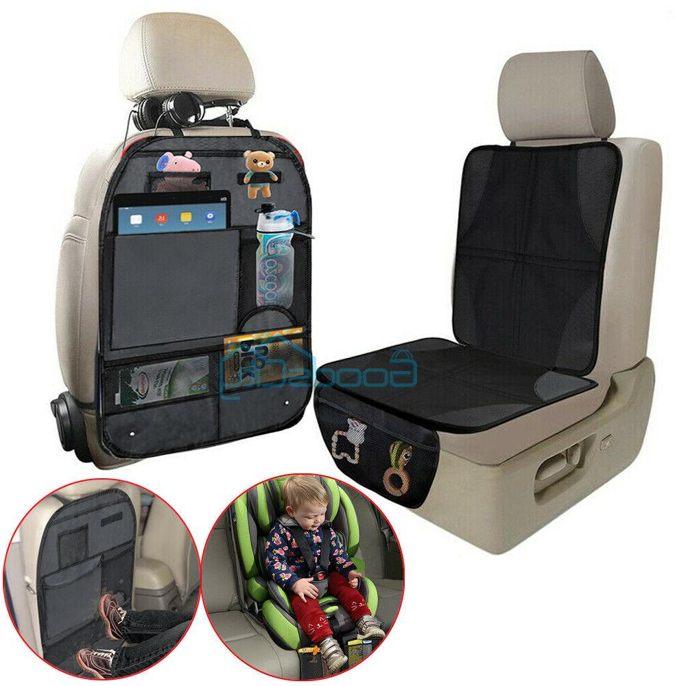 car seat protector thickest padded waterproof back
