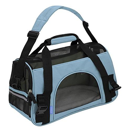 OxGord Comfortable Soft-Sided Pet Carrier , Blue