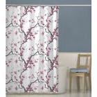 Maytex Cherrywood Fabric Shower Curtain 70 X 72 Inch  Floral