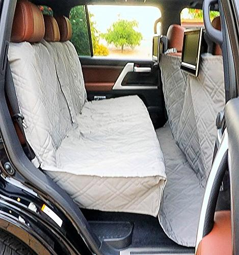 """Deluxe Dog Cover with Best and SUV Travel With Free - Universal Fit 56""""x94"""","""