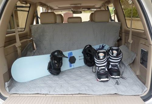 """Deluxe Dog Car Seat Cover with Best Car and - With Your Mess Free 56""""x94"""","""