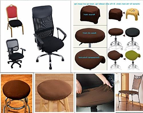 Boshen 6PCS Chair Stretch Seat Protector Kitchen Chairs Stretchable