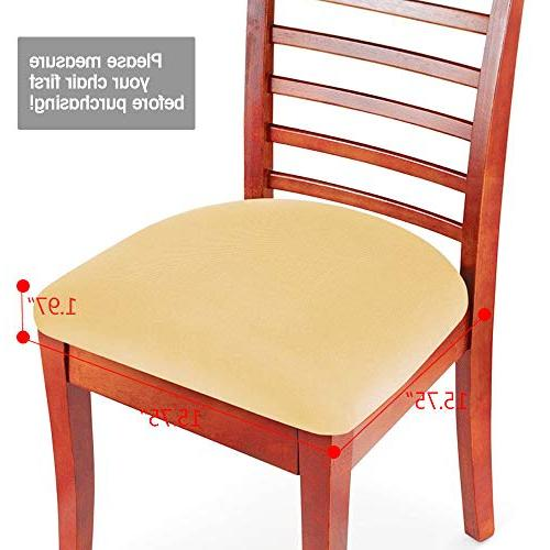 Boshen Chair Seat Protector Dining Room Kitchen Chairs Stretchable