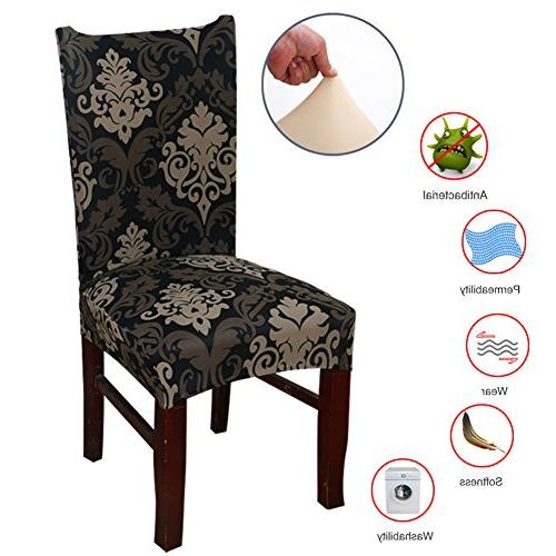 ColorBird European Style Spandex Fabric Chair Slipcovers Universal Chair Protector Covers for Room,