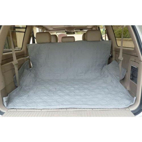 Pet Truck Car Seat Cover Dog Back Rear Bench Pad Quitlted Coverage
