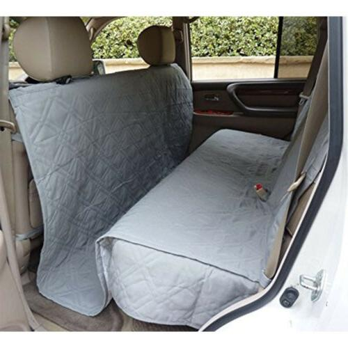 Pet Van Car Back Rear Bench Pad Quitlted Coverage