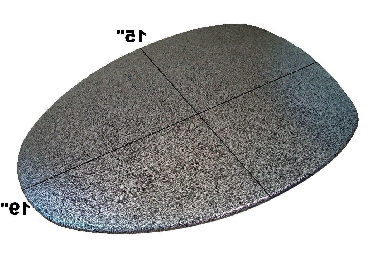 Fabric Lid Elongated in