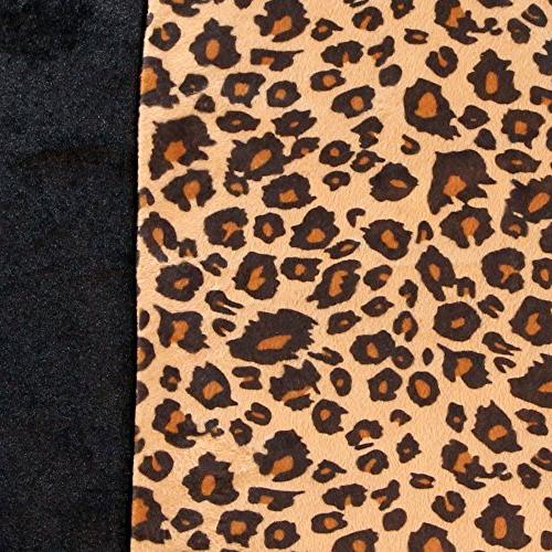FH Group Classic Leopard Animal Split Cover