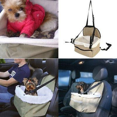 Soft Pet Dog Puppy Cat Kitty Car Seat Booster Seat Carrier C