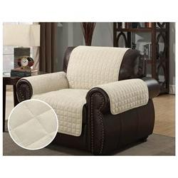 Furniture Protector Pet Cover Quilted Microsuede Chair 64 x