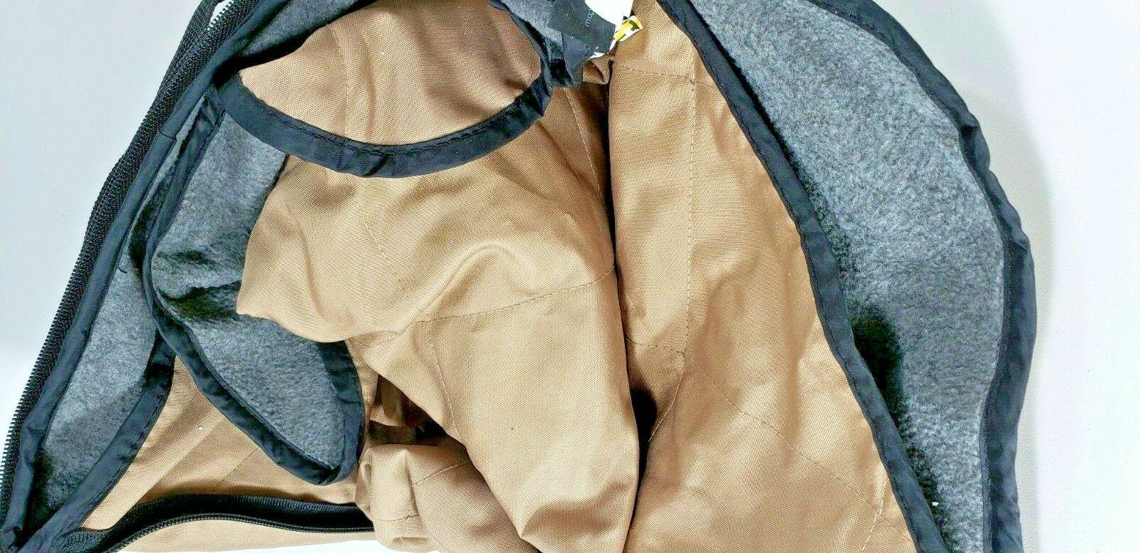Golf Car Seat Lined Tan Packable Carry TOTE