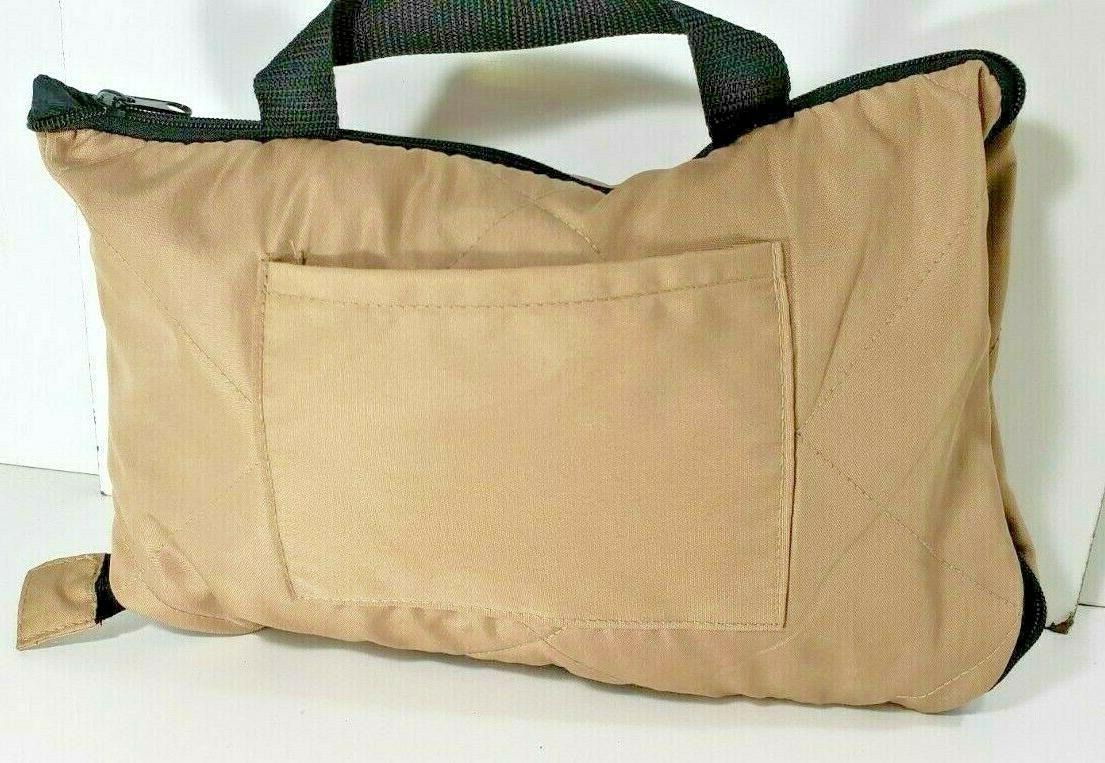 Golf Car Lined Seat Tan Packable