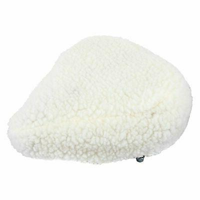 imitation sheepskin padded bicycle seat
