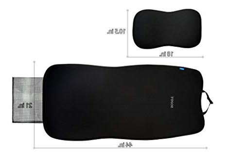 Sojoy IsoTowel Car Cover. Microfiber with No-Slip Car All Workouts,