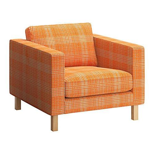 sc 1 st  Arm Chair Seat Cover & Ikea Karlstad-armchair-slipcover Cover Husie Orange 902.547.09