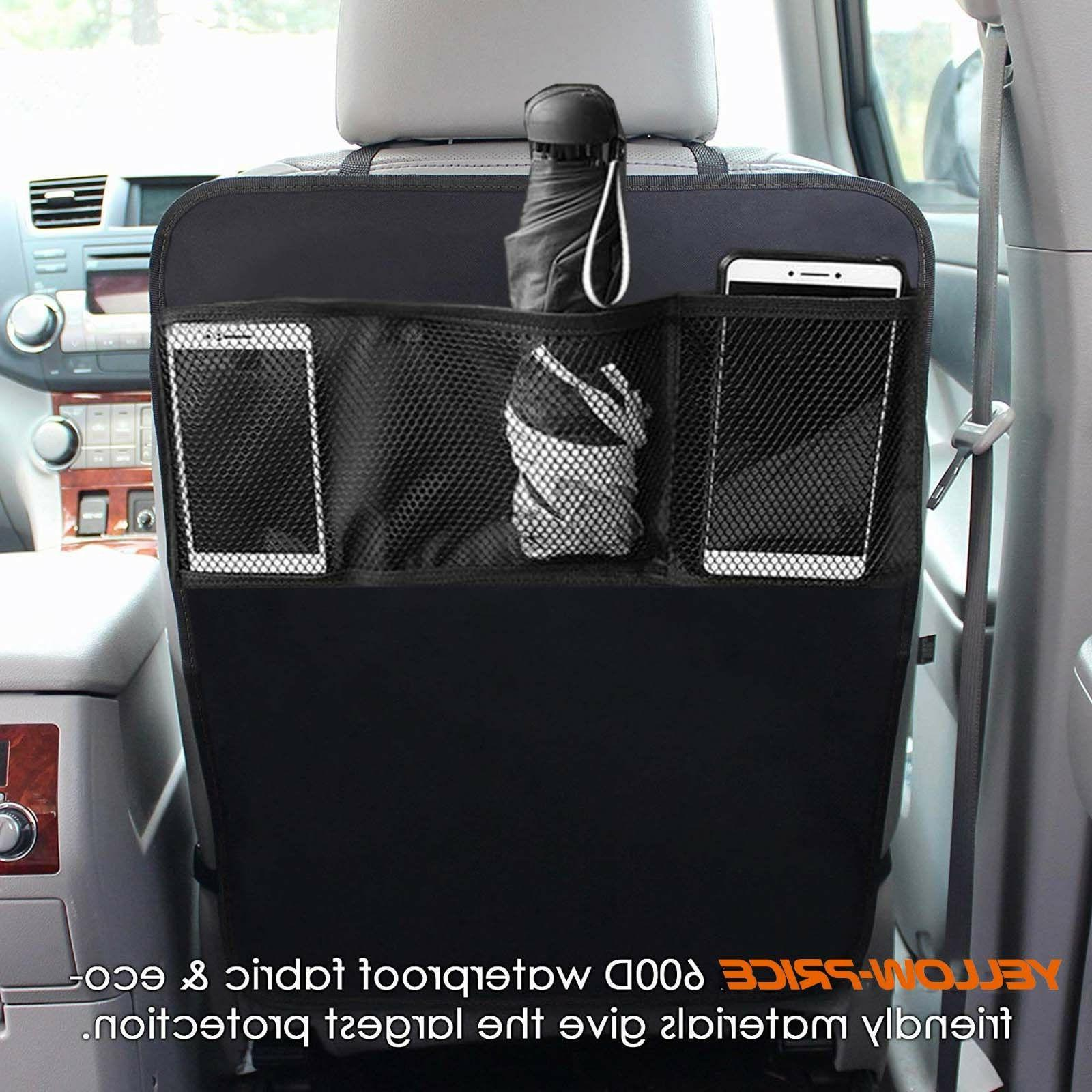 Kick Auto Seat Cover Kid Care Organizer Cleaning US