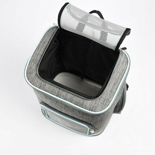 Large Capacity Pet Carrier Backpack for Dog Foldable 4