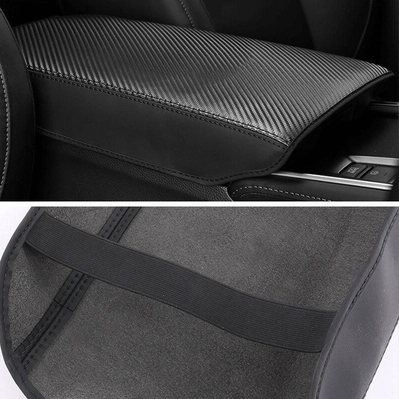 Leather Armrest <font><b>Covers</b></font> Arm Cushion For Honda 10th 2018 Accessories