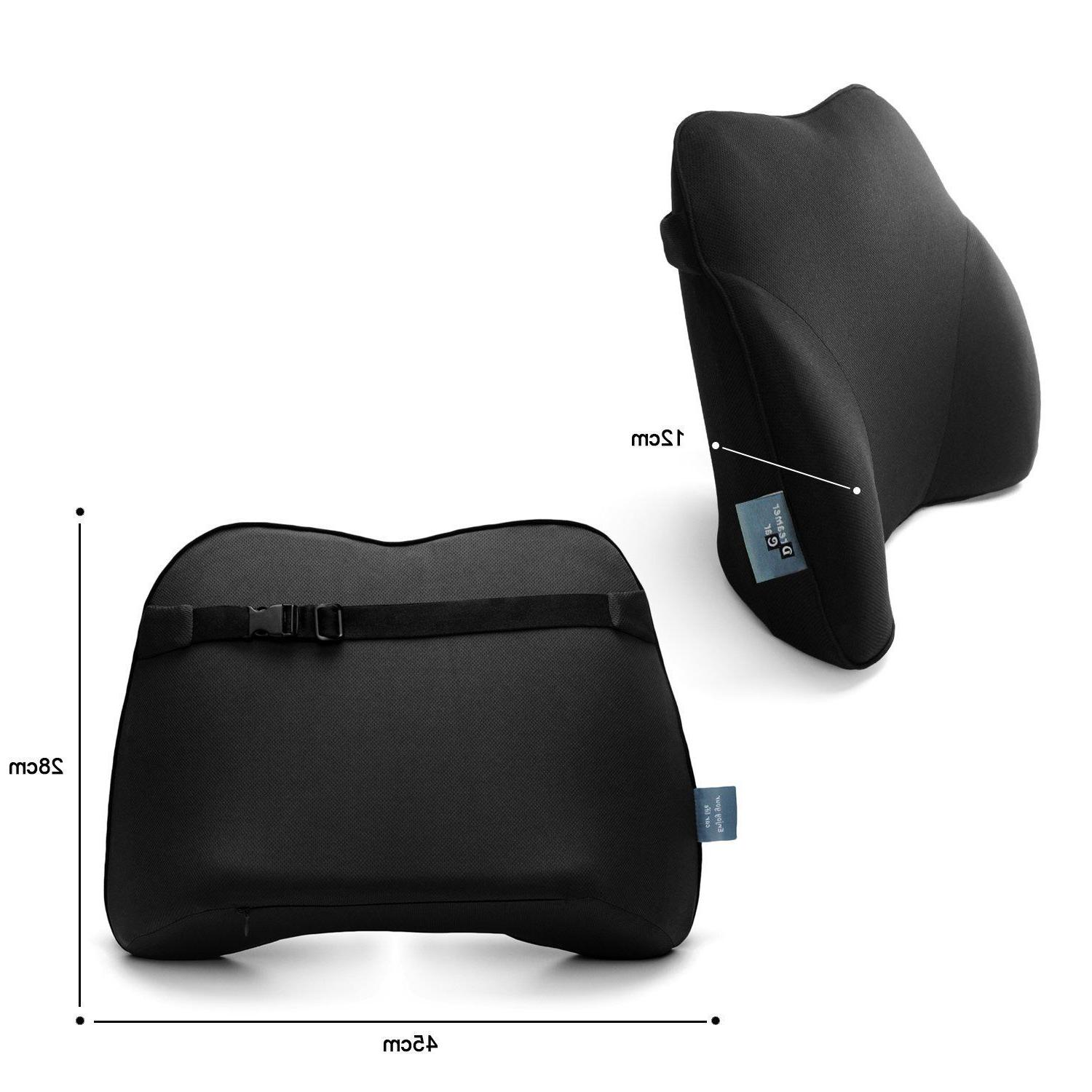 Lower Back Support Cushion Memory Pillow Tailbone NEW