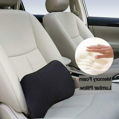 Lumbar Support Pillow Memory Foam Home Car Chair