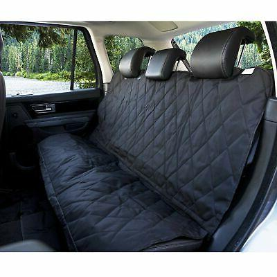 BarksBar Luxury Seat Cover Anchors Trucks, and