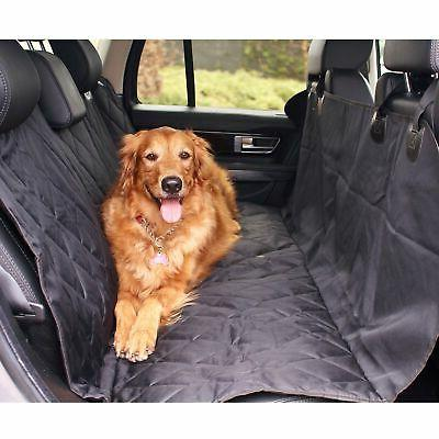 BarksBar Luxury Pet Seat Cover with Anchors Cars, Trucks, and Su...