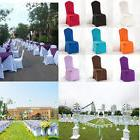 Lycra Spandex Chair Flat Front Stretch Covers Wedding Party