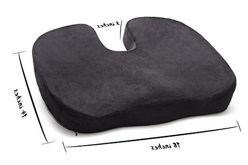 memory foam seat cushion coccyx