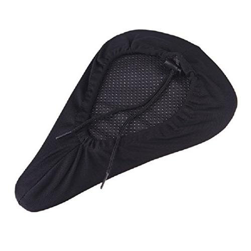 MOST COMFORTABLE Bike Seat Cover Bike Cushion - Best for Outdoor Exercise. Easy Standard