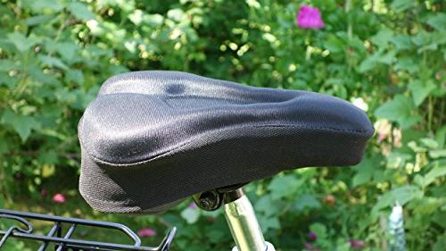 MOST COMFORTABLE Cover Bike Outdoor Stationary MTB - Painless Training. Standard Seats.