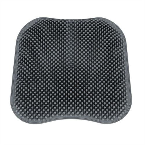 Grey Breathable Silicone Seat Cushion Office Massage Chair USA