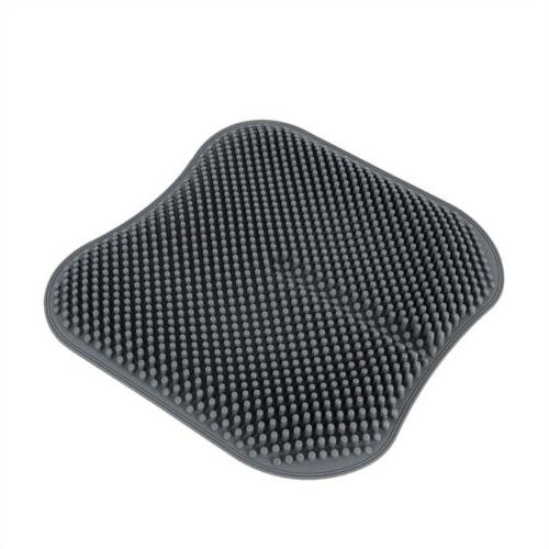 Grey Breathable Silicone Cushion Chair Mat USA