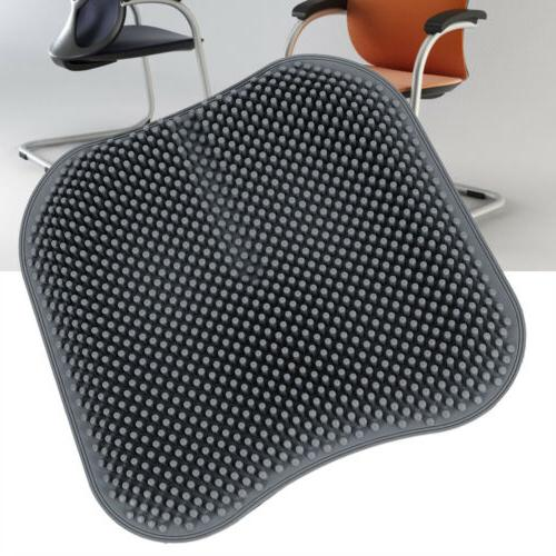 grey breathable silicone seat cushion office car