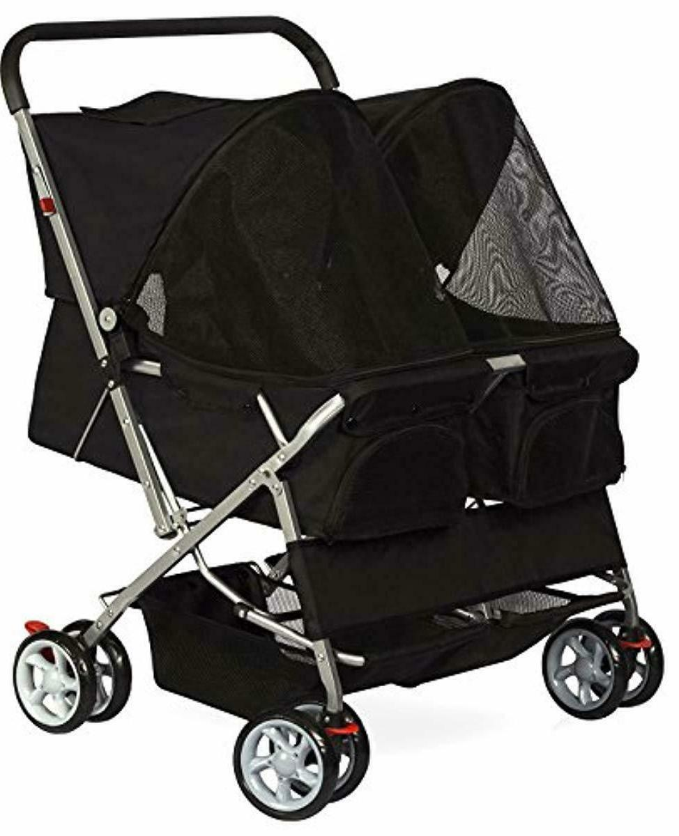 paws pals double dog stroller pet strollers